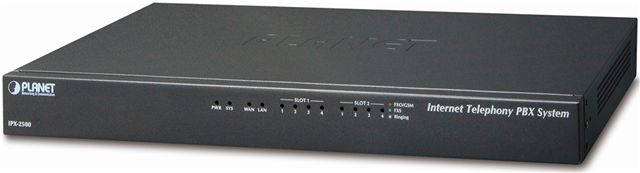 Ip Pbx With 2-expandable PCI Slots - 500 User
