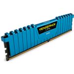 DDR4 2133MHz 16GB 4 x 288 DIMM Unbuffered 13-15-15-28 Vengeance LPX Blue Heat spreader 1.20V