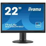 Monitor LCD 22in Prolite B2280wsd-b1/ Tn, LED-backlit, Full Hd 1080p, 16:10, 5ms, 1000:1 - Black