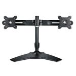 Desk Mounting Stand For Dual Monitors 15-24i/max 12kg Per Hinge/tilt Max 20o/swivel 20o/rotate 360o