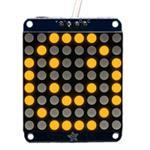 Small 1.2i 8x8 LED Matrix W/i2c Backpack Yellow