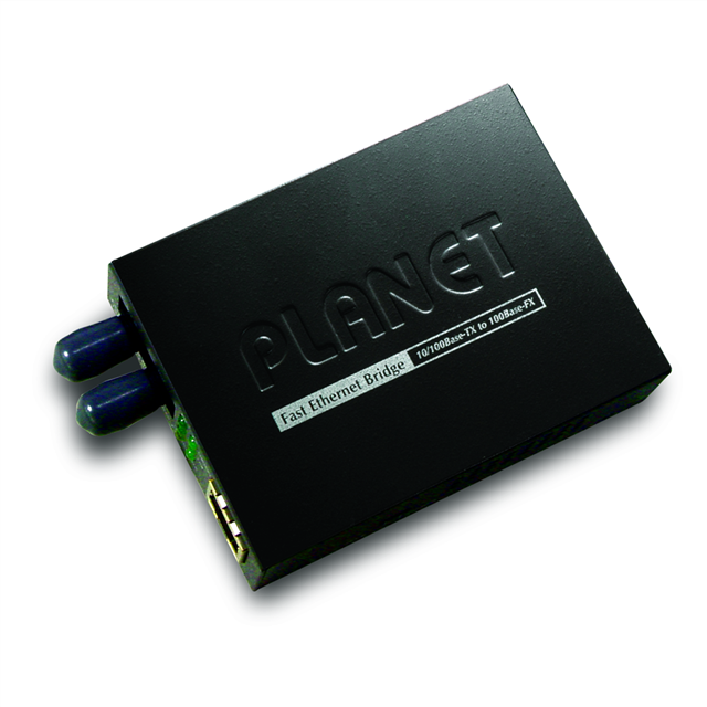 10/100base-tx To Base-f X (st) Bridge Media Converter