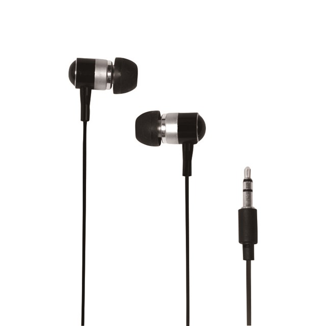 Earphone Stereo In-ear 3.5mm Black (hs0015a)