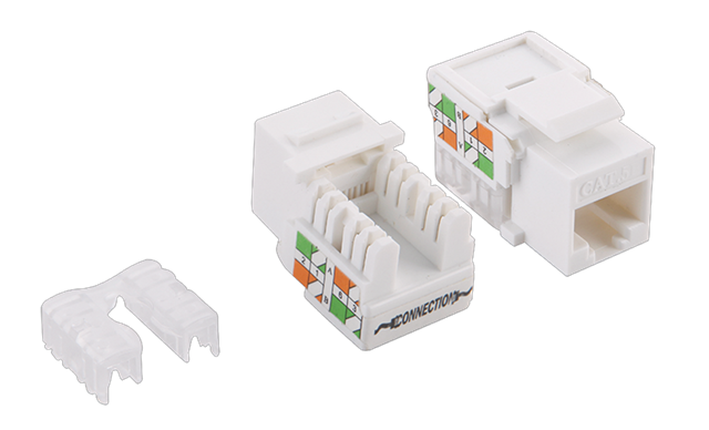 Cat5e Keystone Jack Unshielded Lsa/idc Punch Down Nk4006