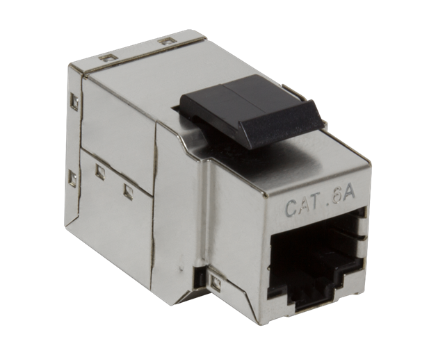 CAT6a Keystone Coupler Stp Shielded Snap-in Nk4010