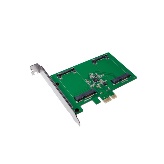 Pci-e  Card 2x MSATA SSD Slot