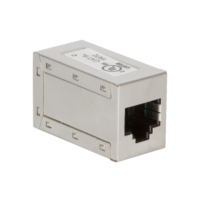 Rj45 Adapter Shielded Fem/fem Category 6a